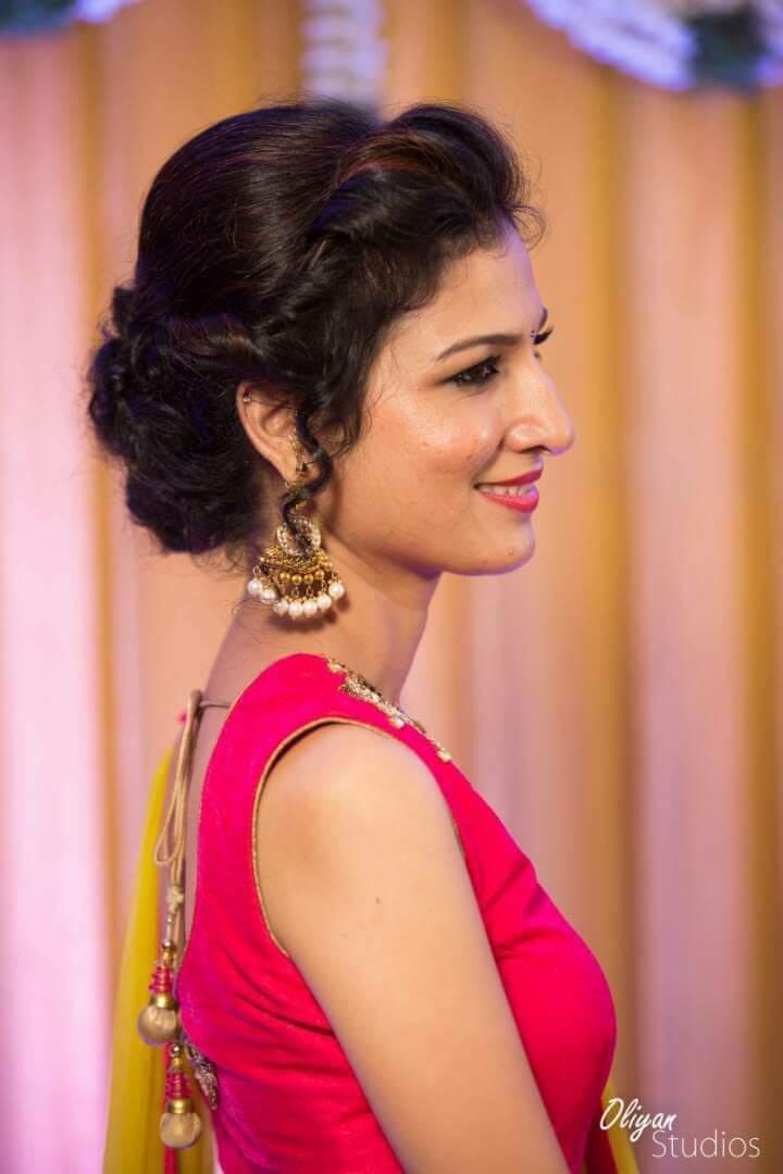 15000 Hindu Wedding Makeup by Chithra